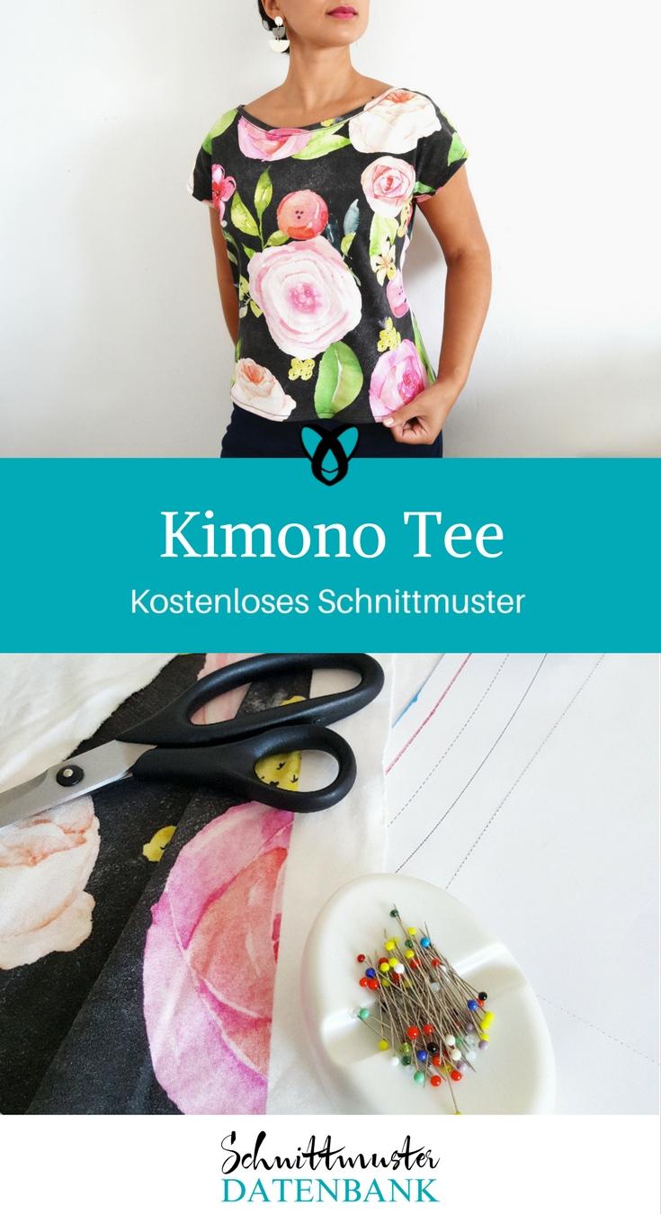 Kimono Tee – Schnittmuster Datenbank