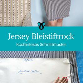 Jersey Bleistiftrock