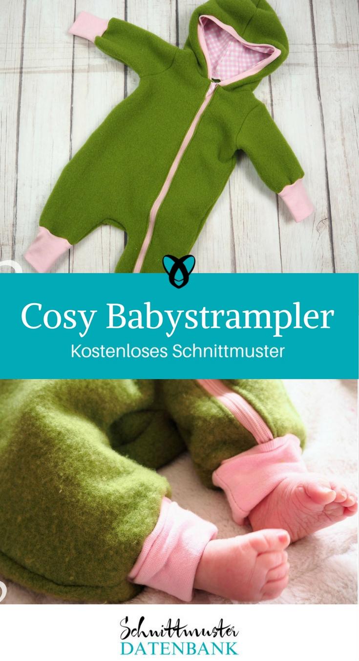 Cosy Babystrampler – Schnittmuster Datenbank