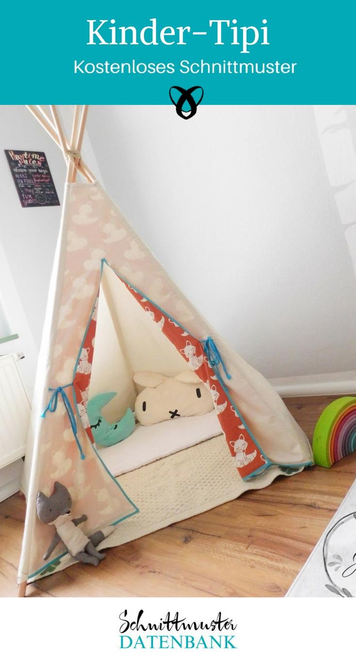 kinder tipi schnittmuster datenbank. Black Bedroom Furniture Sets. Home Design Ideas