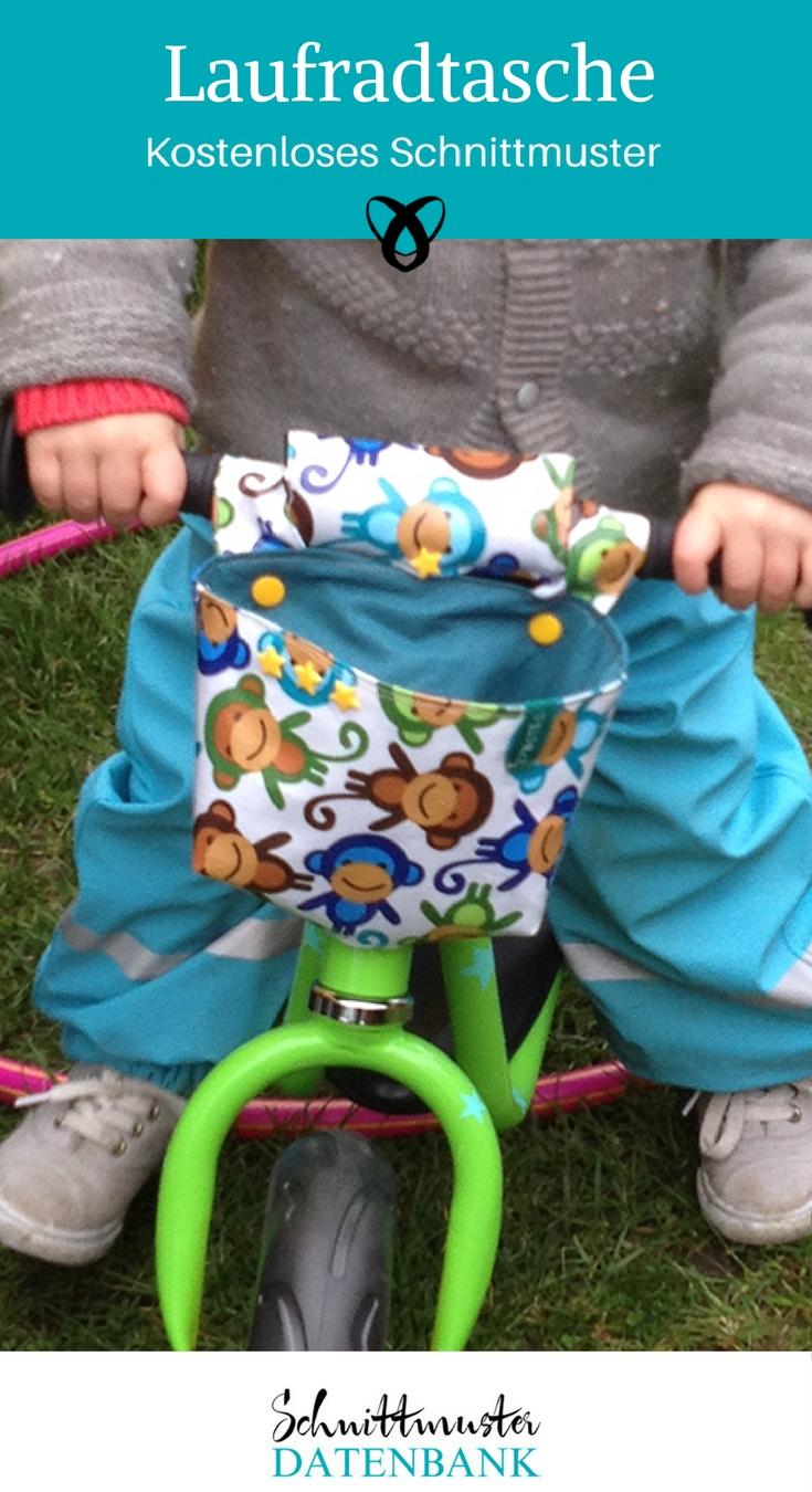 laufradtasche nähen fahrradttasche kinderfahrrad puky laufrad kostenlose Nähanleitung