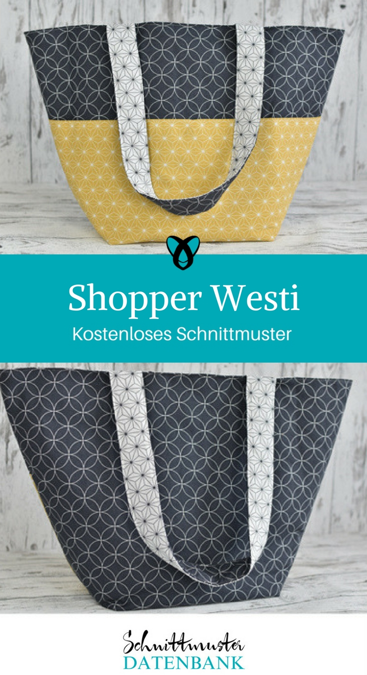 Handtasche & Shopper Westi – Schnittmuster Datenbank