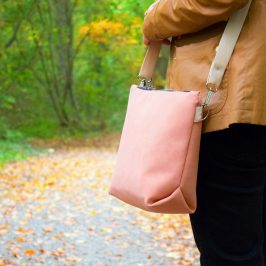 Tasche Orivia kostenloses Schnittmuster Handtasche Umhängetasche Shopper kostenlose Nähanleitung