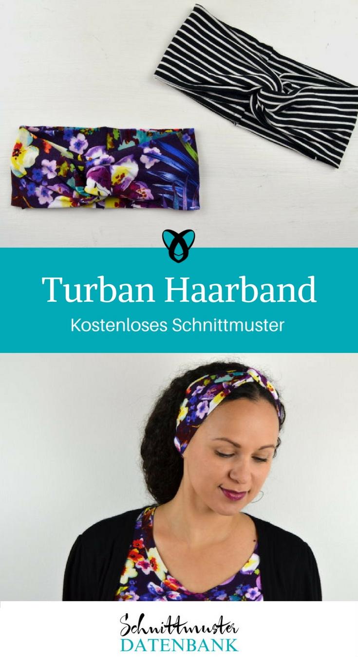 Turban Haarband – Schnittmuster Datenbank