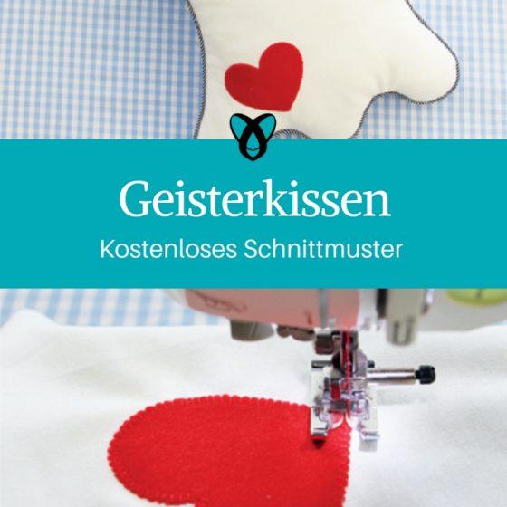 geisterkissen kissen kinderzimmer nähen emojikissen emoji kostenloses schnittmuster nähanleitung gratis geschenk geschenkidee nähidee
