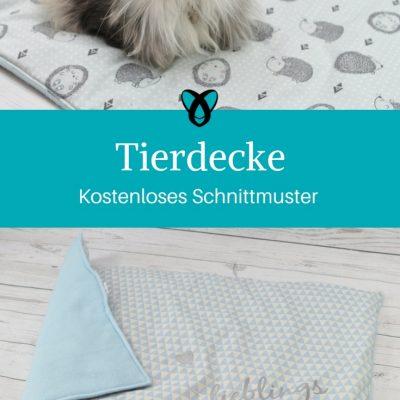 tierdecke decke katze decke Hund kostenloses schnittmuster kostenlose nähanleitung nähen für tiere