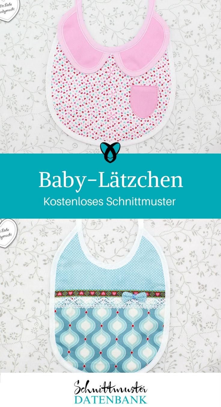 Baby-Lätzchen – Schnittmuster Datenbank