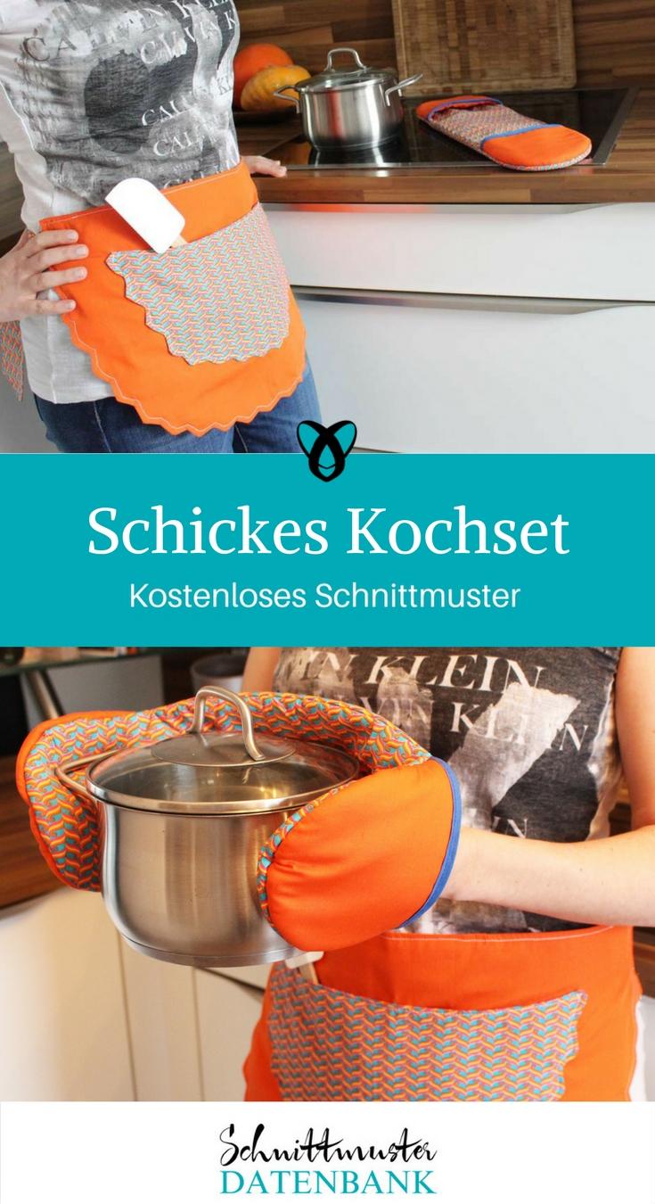 Schickes Kochset – Schnittmuster Datenbank