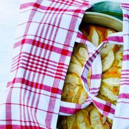 Kuchentasche aus Geschirrtüchern