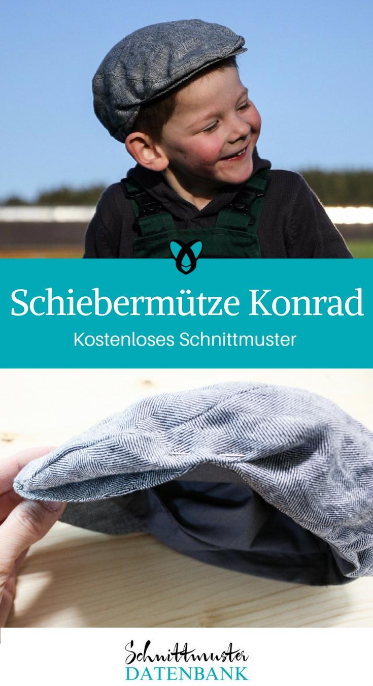 Schiebermütze Konrad – Schnittmuster Datenbank