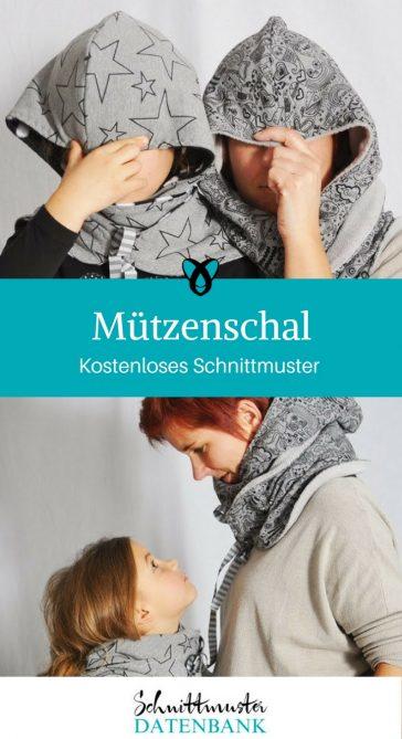Mützen & Schals – Schnittmuster Datenbank