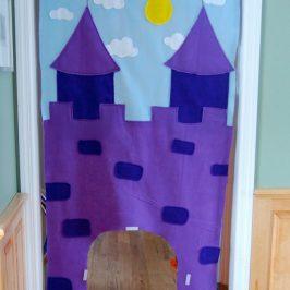 Spiel-Schloss für die Tür