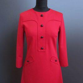 Retrokleid Kurzes Kleid Damenkleid Kleid im Retrostil kostenloses Schnittmuster Gratis-Nähanleitung