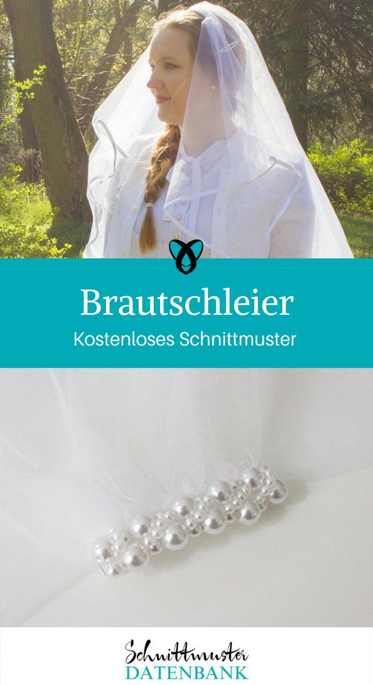 Brautschleier – Schnittmuster Datenbank