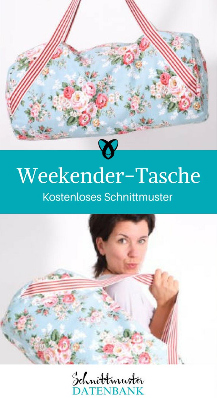Weekender-Tasche – Schnittmuster Datenbank