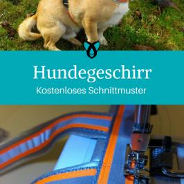 Hundegeschirr Nähen für Haustiere Kostenlose Schnittmuster Hund Gratis-Nähanleitung
