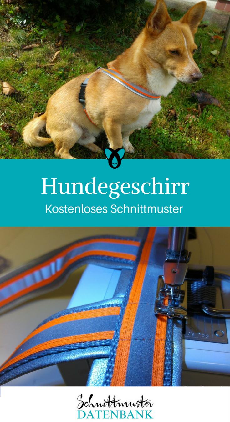 Hundegeschirr – Schnittmuster Datenbank
