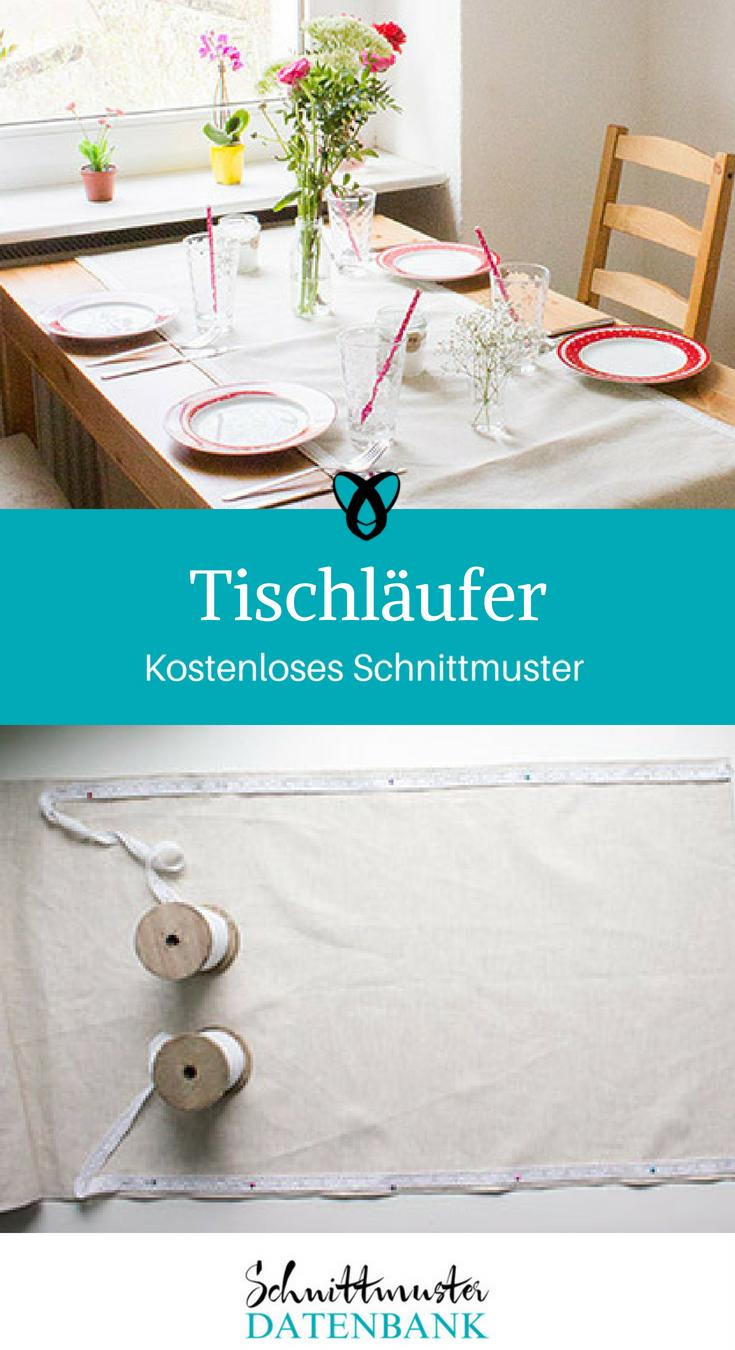 Tischläufer – Schnittmuster Datenbank