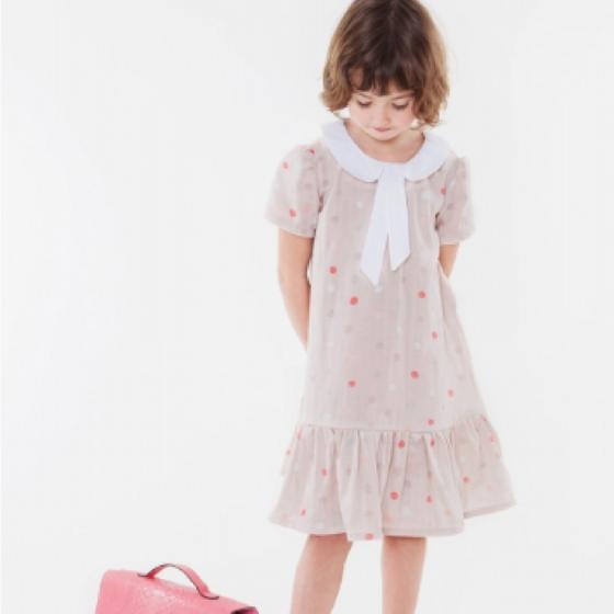 Volantkleid Kleid für Mädchen Sommerkleid kostenloses Schnittmuster Gratis-Nähanleitung