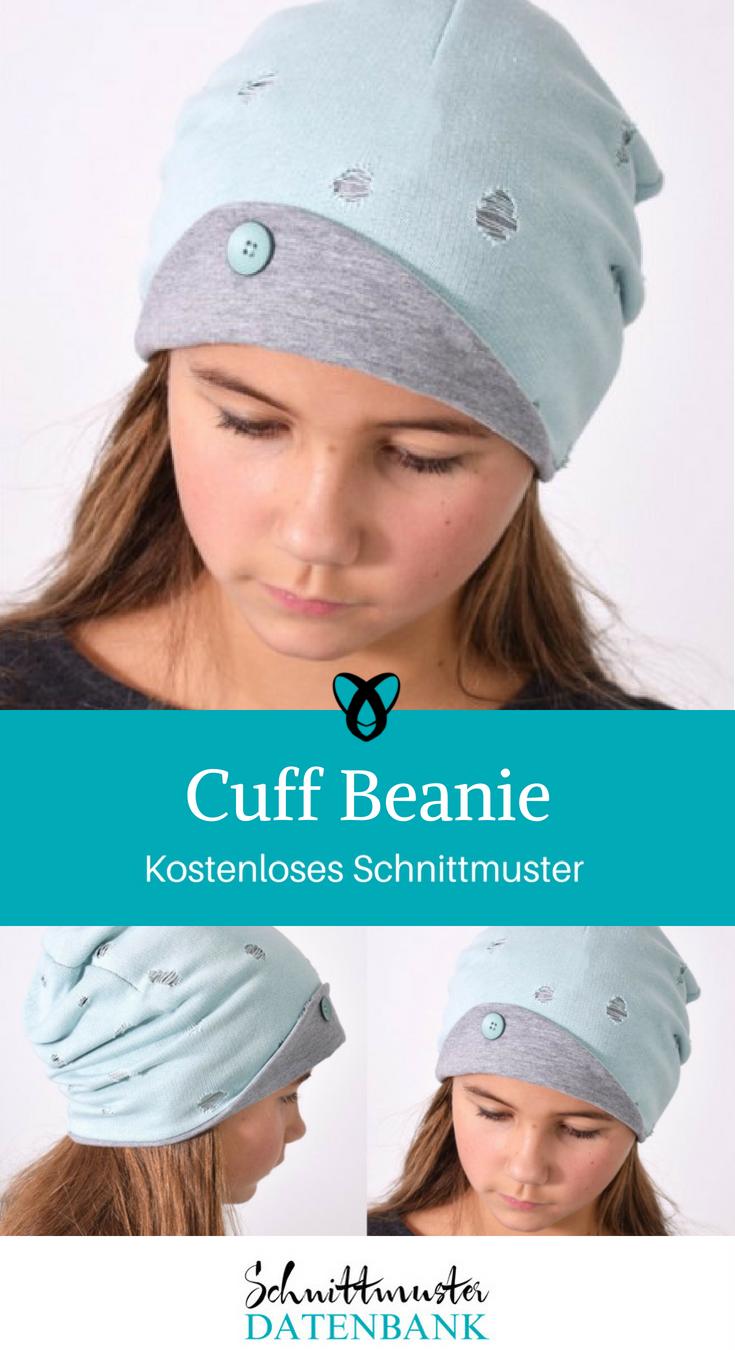 97dcfcdaa4e Cuff Beanie – Schnittmuster Datenbank