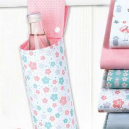 Thermoflaschenhalter Geschenkideen Praktisches für Zuhause kostenlose Schnittmuster Gratis-Nähanleitung