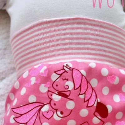 Plotter-Freebie kostenlose Plottdatei für Kinder Pferdemotiv Pegasus kostenlose Schnittmuster Gratis-Nähanleitungen