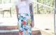 Rock Valerie Damenrock Nähen mit Baumwollstoff Damenkleidung kostenlose Schnittmuster Gratis-Nähanleitung