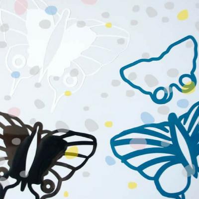Plotter-Freebie Schmetterlinge Plotterdatei Plotten kostenlose Schnittmuster Gratis-Nähanleitung