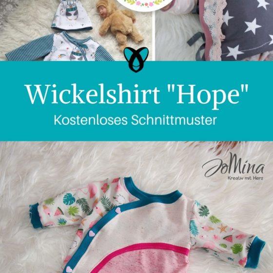 Wickelshirt Babys nähen gratis Schnittmuster kostenlos Freebie Freebook Shirt Knöpfe