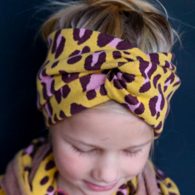 Bandeau-Haarband Kopfschmuck Kopfband Nähen für Kinder Accessoires Kinder Stirnband kostenlose Schnittmuster Gratis-Nähanleitung