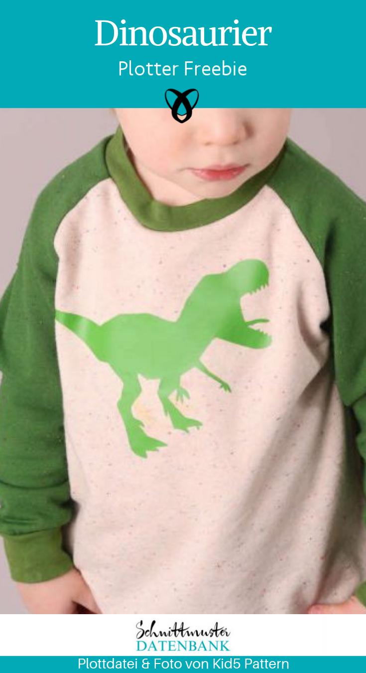 Plotter Freebie Dinosaurier Plottdatei Plotten Dino T-Rex