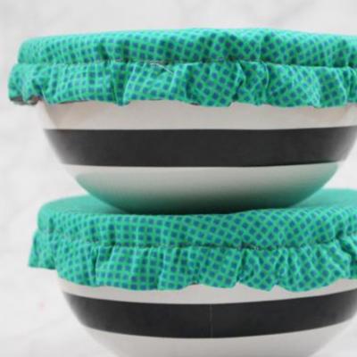 Schüsselabdeckung Nähen für zuhause Nachhaltigkeit Nähen für die Küche kostenloses Schnittmuster