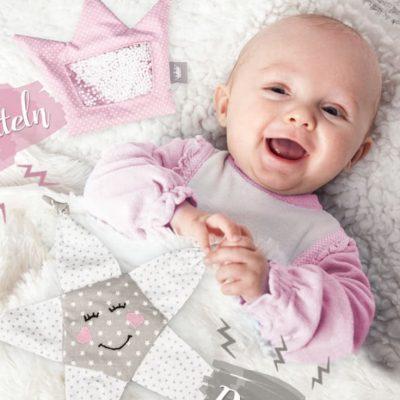 Kinderspielzeug Babyspielzeug nähen Erstausstattung kostenloses Schnittmuster Gratis-Nähanleitung