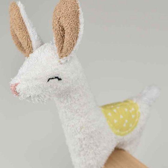 Lama Spielzeug Kuscheltier Plüschtier kostenlose Schnittmuster Gratis-Nähanleitung