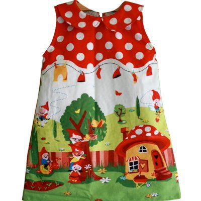 Mädchenkleid-Kleid-mit-Kragen-Nähen-für-Kinder-kostenloses-Schnittmuster-Gratis-Nähanleitung