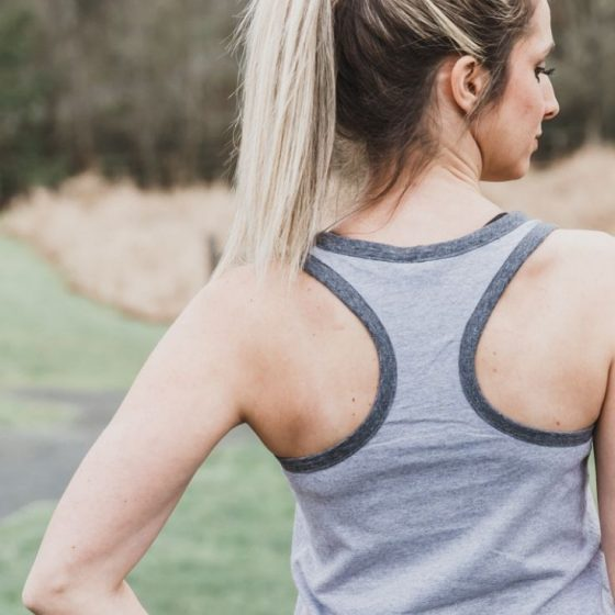 Tank Top Sportoberteil Damenshirt Oberbekleidung Damen kostenloses Schnittmuster Gratis-Nähanleitung