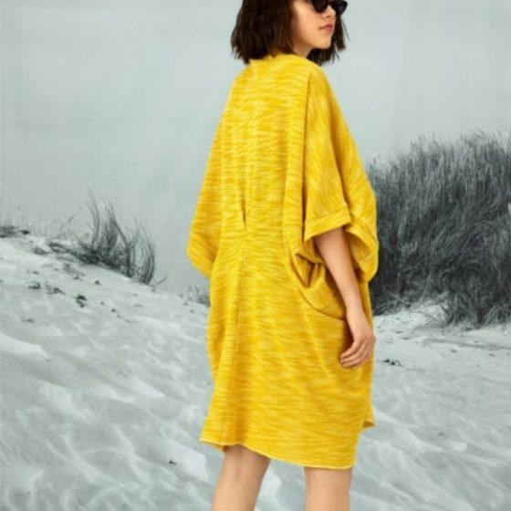 Wende Jacke Kimonojacke Kaftanjacke weite Jacke kostenlose Schnittmuster Gratis-Nähanleitung