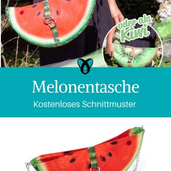 melonentasche handtasche sommertasche kostenloses schnittmuster gratis-nähanleitung