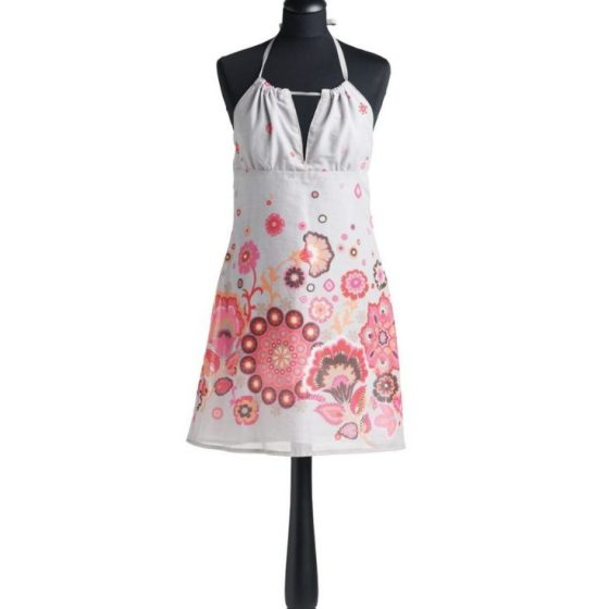 sommerkleid neckholderkleid kurzes kleid nähen für den sommer damenkleid kostenloses schnittmuster gratis-nähanleitung