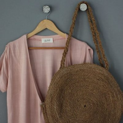 Korbtasche Handtasche Nähen mit Seil kostenlose Schnittmuster Gratis-Nähanleitung