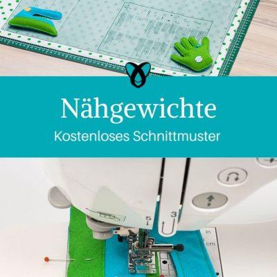 Nähgewichte Tools zum Nähen kostenlose Schnittmuster Gratis-Nähanleitung