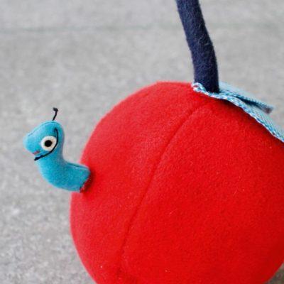 Babyball Babyspielzeug Erstausstattung Geschenke zur Geburt kostenlose Schnittmuster Gratis-Nähanleitung