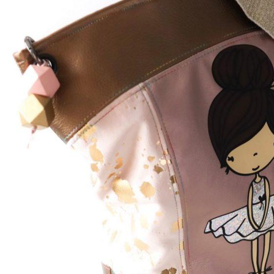 Umhängetasche Accessoire No. 1 Tasche Handtasche Damentasche kostenlose Schnittmuster Gratis-Nähanleitung