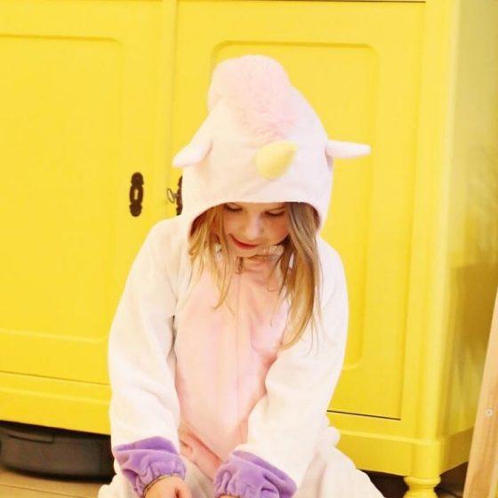 Einhorn Einhorn-overall Faschingskostüm Karneval Fasching Kostüm Kinderkostüm Verkleiden kostenlose Schnittmuster Gratis-Nähanleitung