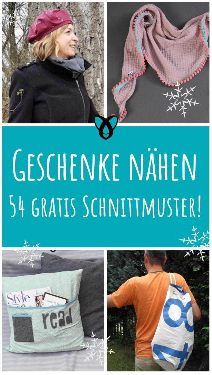 Geschenke_nähen_zu_Weihnachten_gratis_Schnittmuster_kostenlose_Nähideen_kleine_Geschenkideen_Kleinigkeiten_für_Männer_Frauen_Kinder