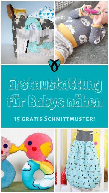 Erstaustattung_für_Baby_nähen_gratis_Schnittmuster_kostenlose_Nähideen_Geschenke_für_Babys_Neugeborene_Mütter