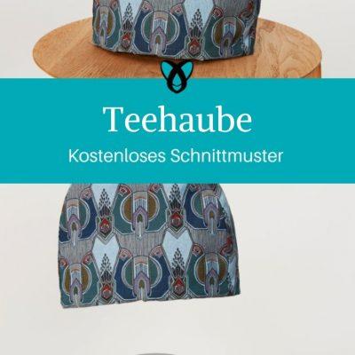Teehaube Nähen für Zuhause Nähen Küche Praktisches Nähen kostenlose Schnittmuster Gratis-Nähanleitung