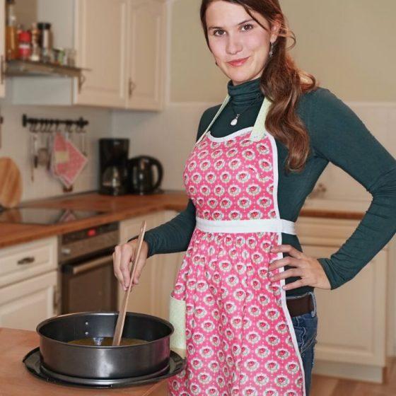 Vintage Kochschürze Schürze Nähen für Zuhause Geschenke nähen kostenlose Schnittmuster Gratis-Nähanleitung