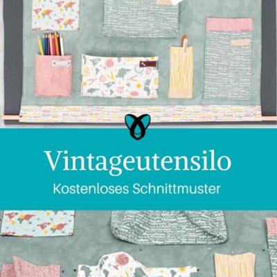 Vintageutensilo Utensilo Ordnung Nähen für Zuhause Vintage kostenlose Schnittmuster Gratis-Nähanleitung