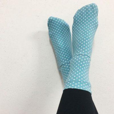 Easy socks socken nähen mit jersey kostenlose Schnittmuster Gratis-Nähanleitung